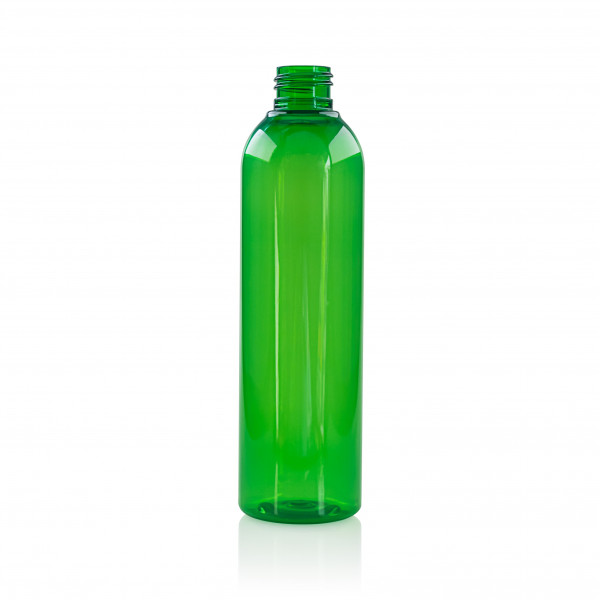 250 ml Flasche Basic Round PET Greun 24.410