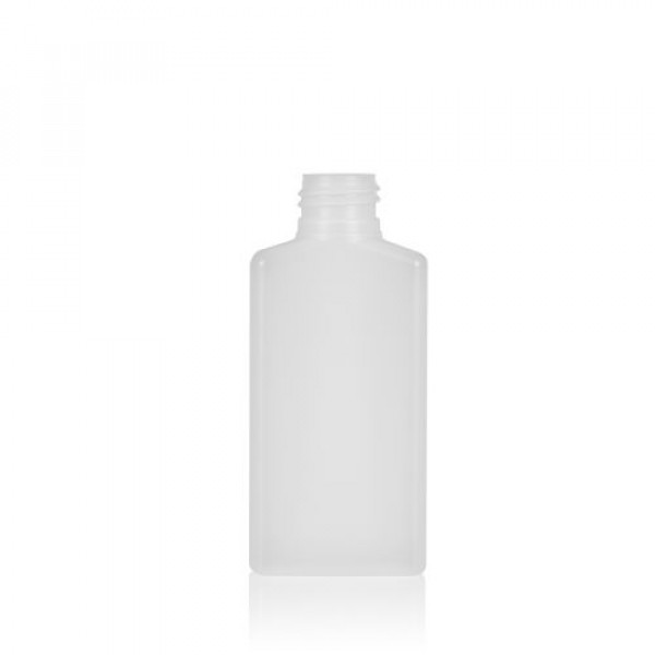 100 ml Flasche Mailbox Rectangle HDPE natur 24.410