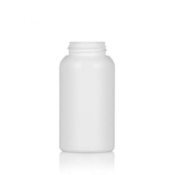 250 ml Flasche Compact round HDPE weiß 567