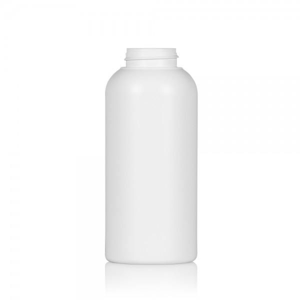 500 ml Flasche Compact round HDPE weiß 567