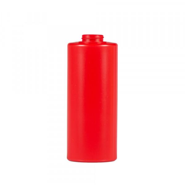 1000 ml Flasche Sauce Round MIX LDPE/HDPE Rot 38.400