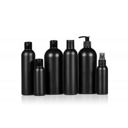 Basic Round PE Flaschen schwarz