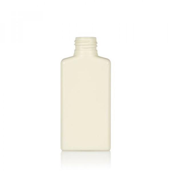100 ml Flasche Mailbox Rectangle recycelten HDPE ivory 24.410
