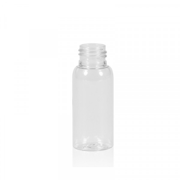 30 ml Flasche Basic Round PET transparent 24.410