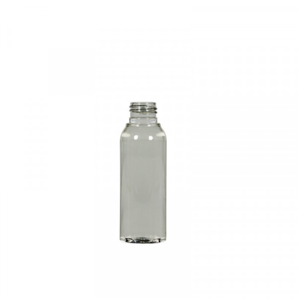50 ml Flasche Basic Round Recyclet PET transparent 24.410