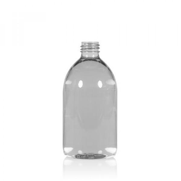 500 ml Flasche Soap recycelten PET transparent 28.410