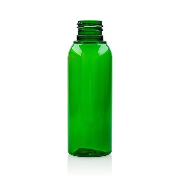100 ml Flasche Basic Round PET grün 24.410