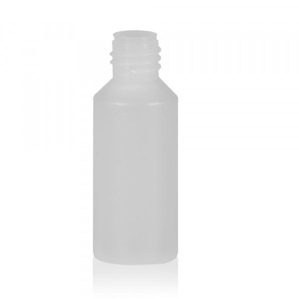 10 ml Flasche Mini Round HDPE-LDPE natur