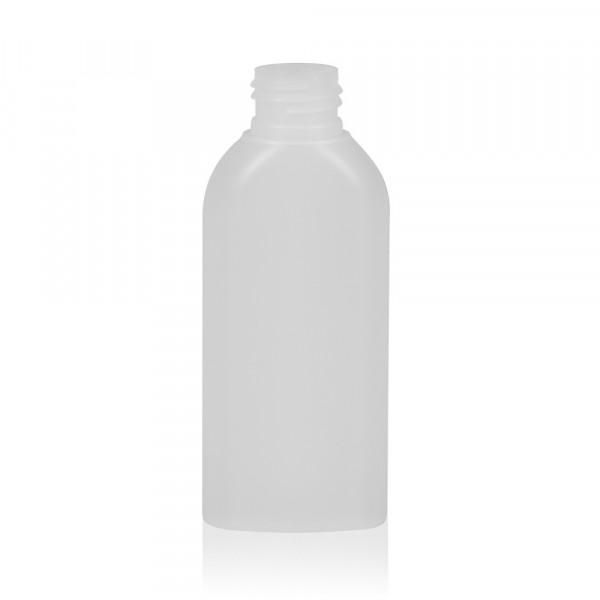 100 ml Flasche Basic Oval HDPE natur 24.410
