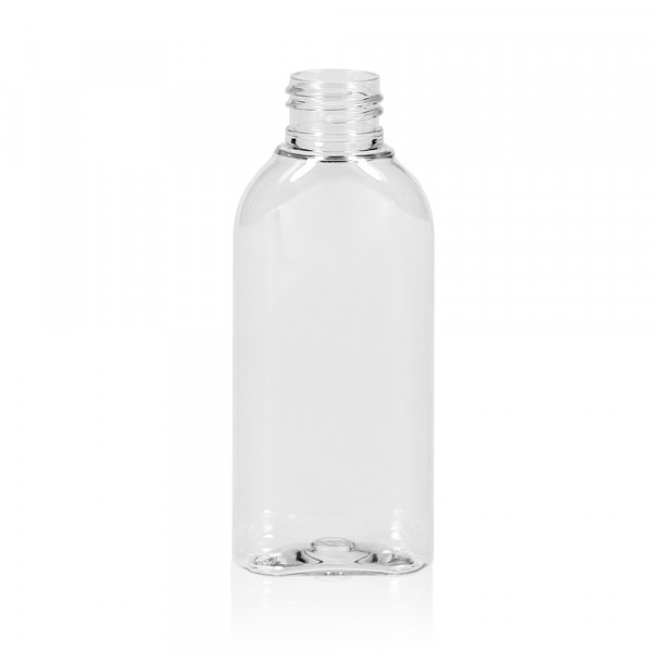 100 ml Flasche Basic Oval PET transparent 24.410