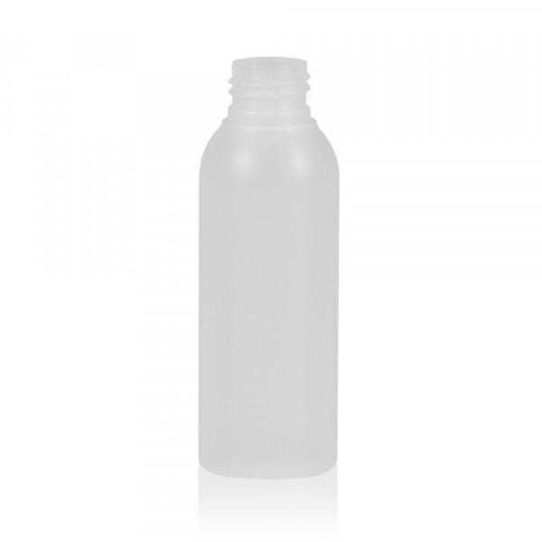 100 ml Flasche Basic Round HDPE natur 24.410