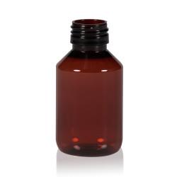 100 ml Flasche Pharma PET braun 28.410