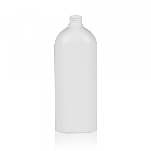 1000 ml Flasche Basic Oval HDPE natur 28.410