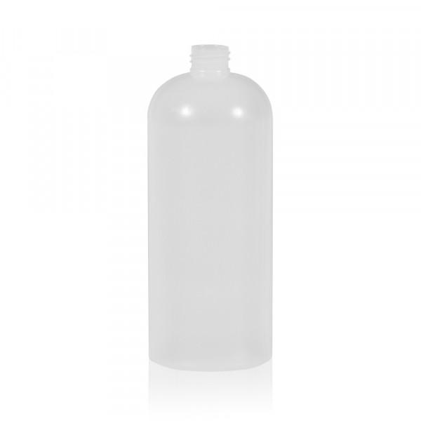 1000 ml Flasche Basic Round HDPE natur 28.410