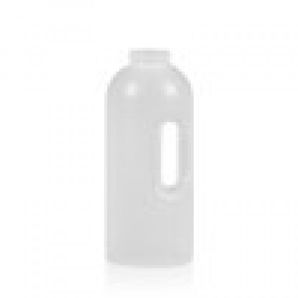 1000 ml Dosierflasche Compact Round HDPE natur One2dose D43
