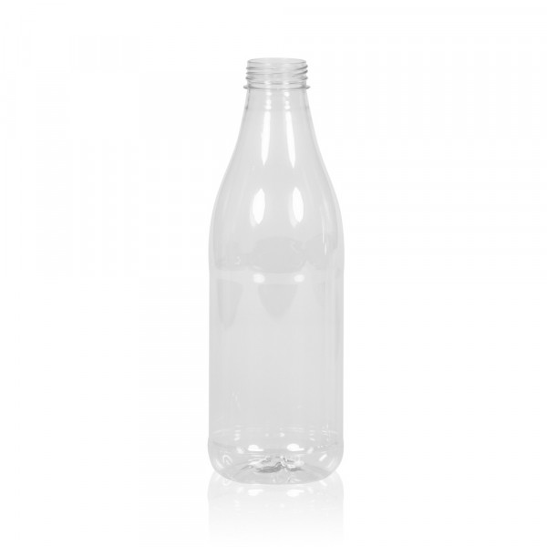1000 ml Saftflasche Juice PET transparent