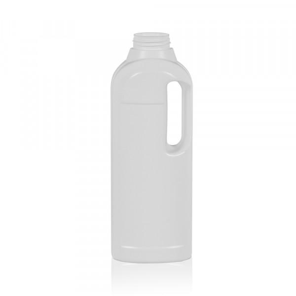 1000 ml Flasche Multi HDPE weiß 567