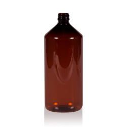 1000 ml Flasche Pharma PET braun 28.410