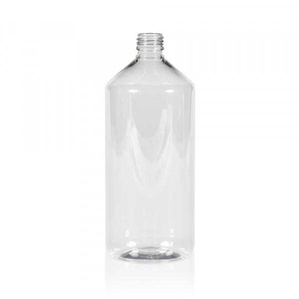 1000 ml Flasche Pharma PET transparent 28.410