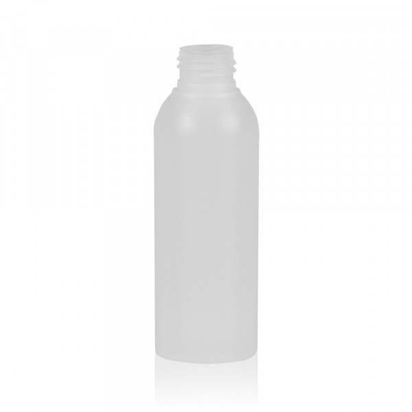 125 ml Flasche Basic Round HDPE natur 24.410
