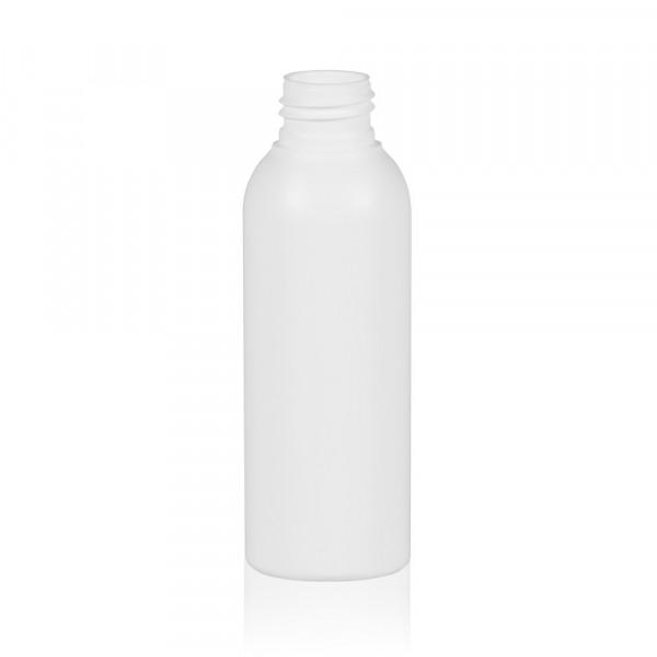 125 ml Flasche Basic Round HDPE weiß 24.410