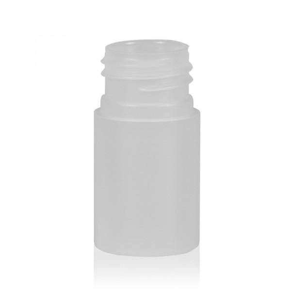 15 ml Flasche Basic Round HDPE natur 24.410