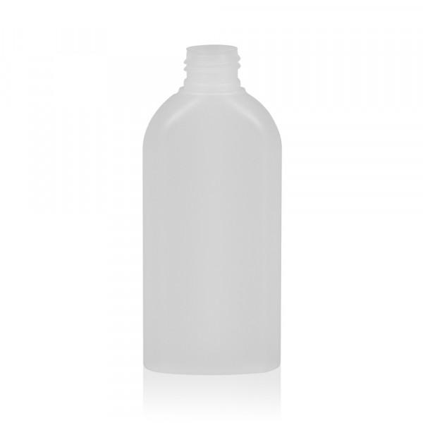150 ml Flasche Basic Oval HDPE natur 24.410