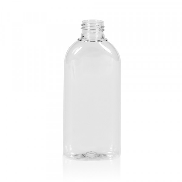 150 ml Flasche Basic Oval PET transparent 24.410