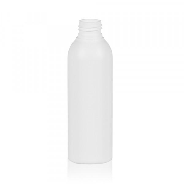 150 ml Flasche Basic Round HDPE weiß 24.410