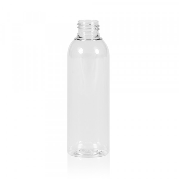 150 ml Flasche Basic Round PET transparent 24.410