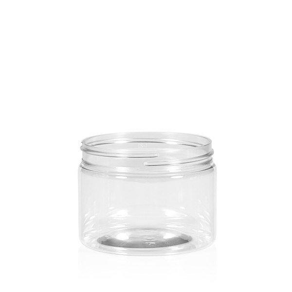 150 ml Clear cylinder PET transparent