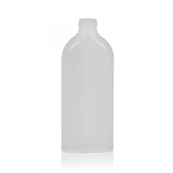 200 ml Flasche Basic Oval HDPE natur 24.410