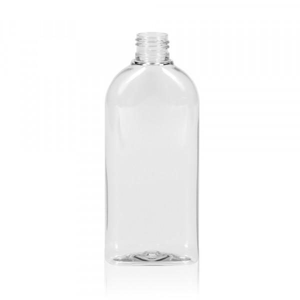 200 ml Flasche Basic Oval PET transparent 24.410