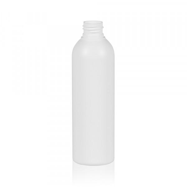 200 ml Flasche Basic Round HDPE weiß 24.410