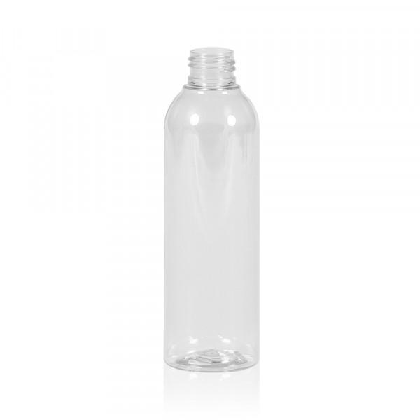 200 ml Flasche Basic Round PET transparent 24.410
