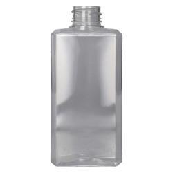 250 ml flasche Basic Rectangle PET Transparent