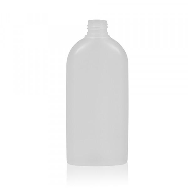 250 ml Flasche Basic Oval HDPE natur 24.410