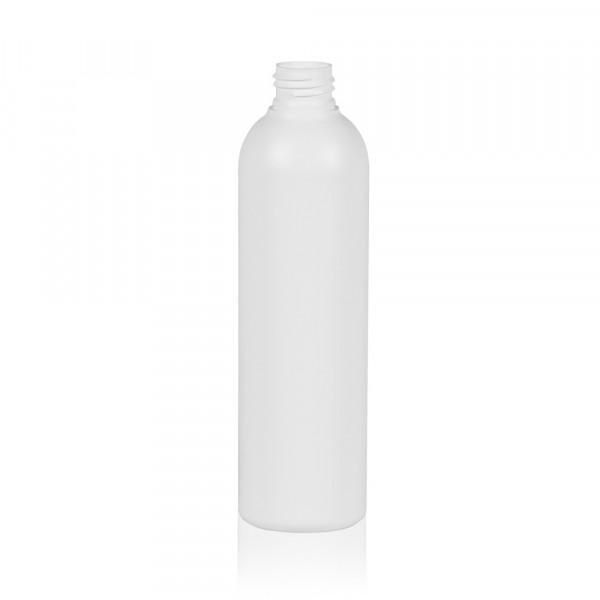 250 ml Flasche Basic Round HDPE weiß 24.410
