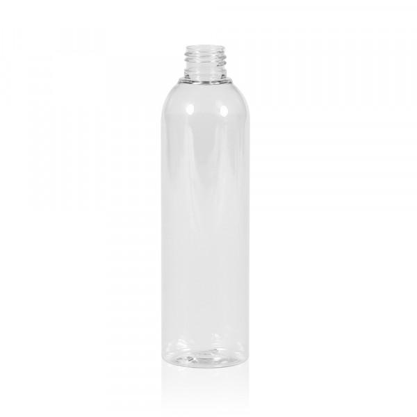 250 ml Flasche Basic Round PET transparent 24.410