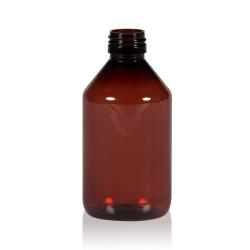 250 ml Flasche Pharma PET braun 28.410