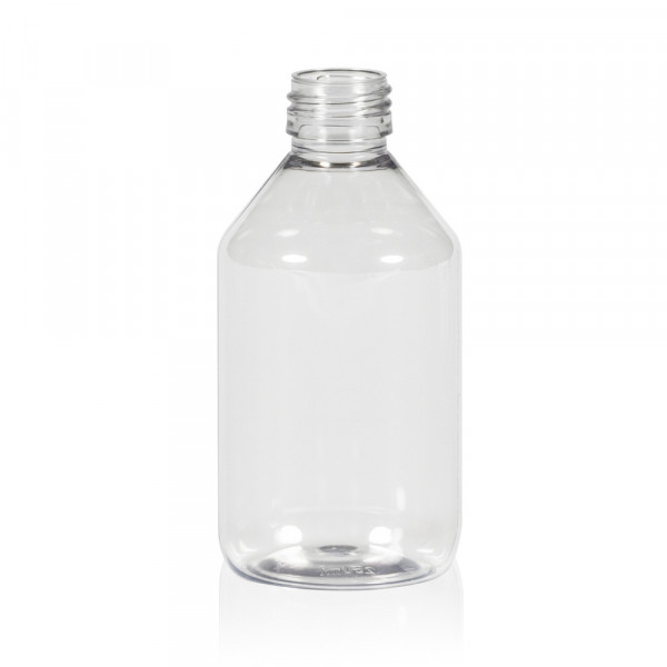 250 ml Flasche Pharma PET transparent 28.410