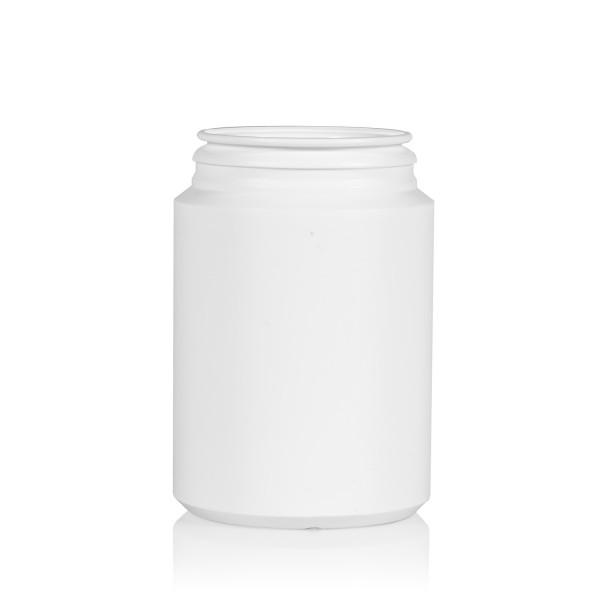 250 ml Pharma cylinder HDPE weiß