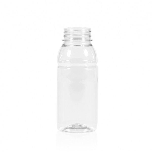 250 ml Saftflasche Smoothie PET transparent