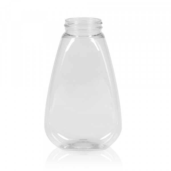 250 ml Flasche Sauce oval PET transparent 38.400