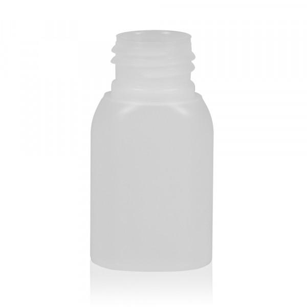 30 ml Flasche Basic Oval HDPE natur 24.410