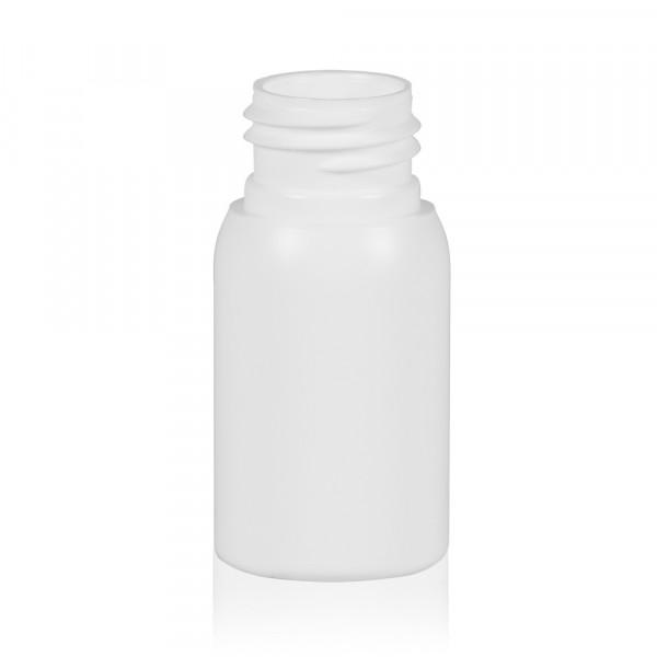 30 ml Flasche Basic Round HDPE weiß 24.410