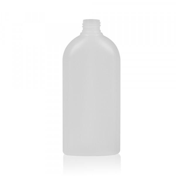 300 ml Flasche Basic Oval HDPE natur 24.410