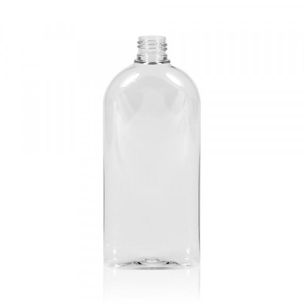 300 ml Flasche Basic Oval PET transparent 24.410