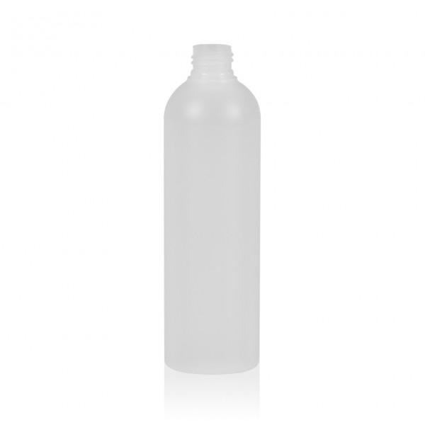 300 ml Flasche Basic Round HDPE natur 24.410