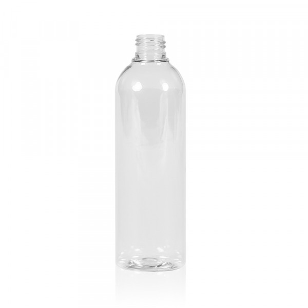 300 ml Flasche Basic Round PET transparent 24.410